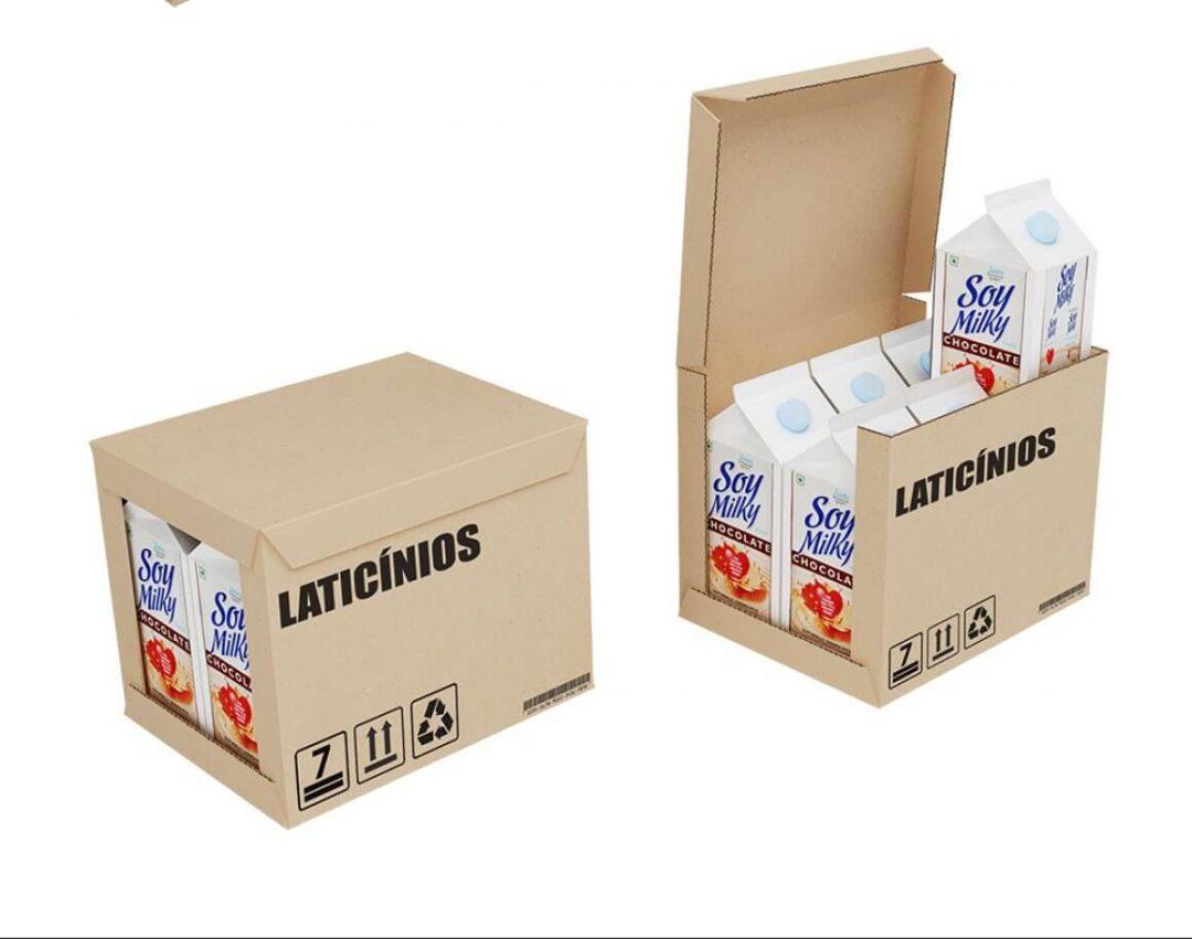 Caixas para Laticínios